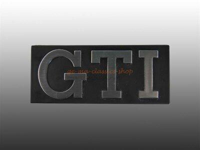 "VW Golf 1 GTI Schriftzug "" GTI ""..."