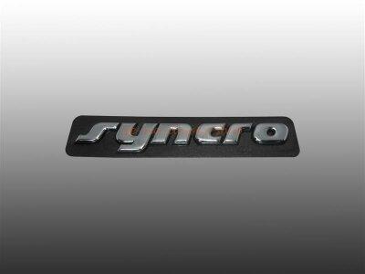 """VW Golf 3 Schriftzug """" Syncro """" seitlich..."""