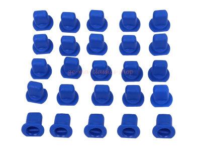 25x VW Bus T3 T4 T2  Schriftzug blaue Clipse Klammern NEU