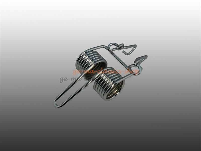Chrom Motor-Haubenfeder Käfer ab 68 m Mexiko
