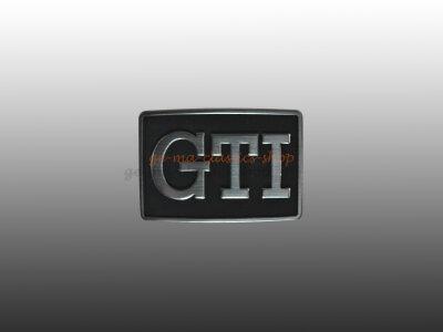 """""""GTI"""" Schriftzug seitlich Golf 2"""
