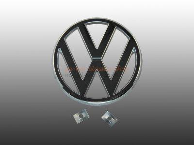 VW Emblem mit Clips Bus T3 Golf 1 Jetta 1 Scirocco 1...