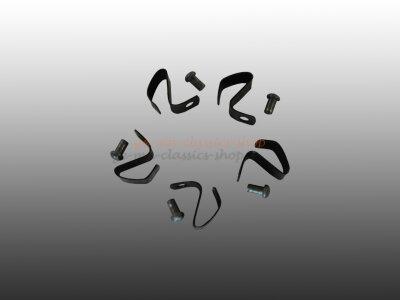 Klammern und Nieten für Radkappe für 5-Loch...