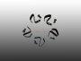 Klammern und Nieten für Radkappe für 5-Loch Felge Satz 5 Stk OE