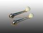 Fensterkurbel Käfer bis 66 Serie Chrom-Elfenbein Paar