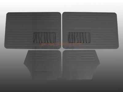 Türverkleidung Satz grau Käfer Cabrio 68 bis 72