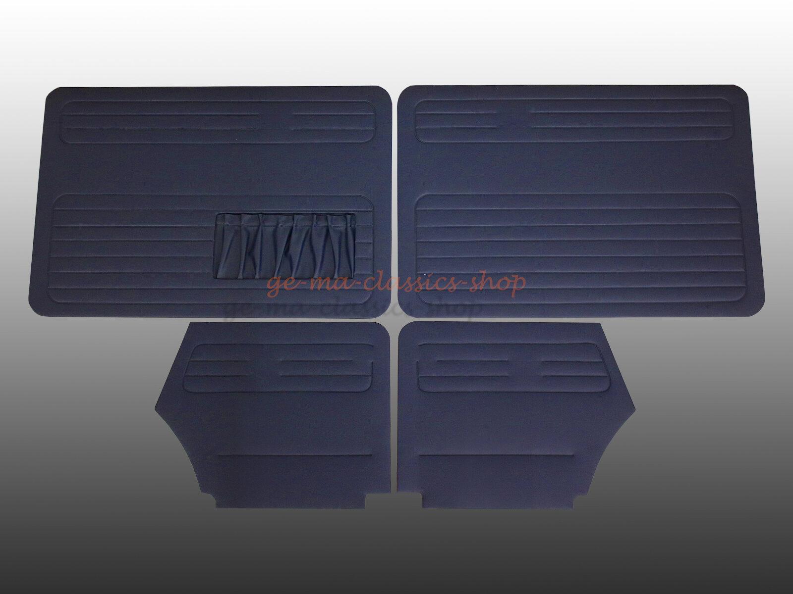 t rverkleidung satz dunkel blau vw k fer cabrio 1303. Black Bedroom Furniture Sets. Home Design Ideas