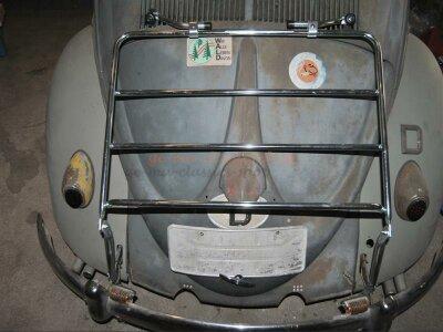 Heck-Gepäckträger VW Käfer Limousine