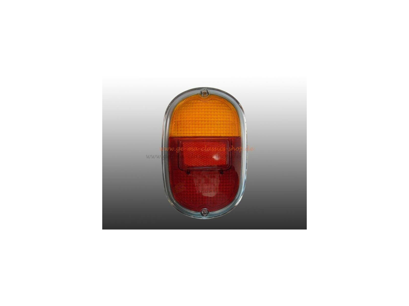 Rücklichtglas für VW Bus T1 T2a 61-71 Chrom