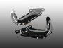 Chrom Hauben-Scharniere VW Käfer Fronthaube ab 67