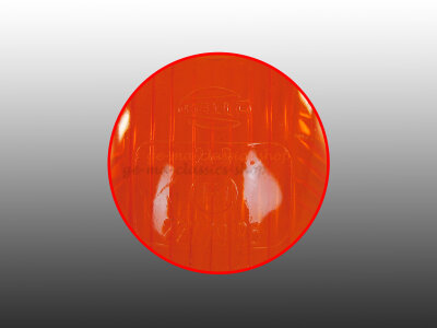 Blinkerglas schmal orange für Käfer bis 63 NOS...