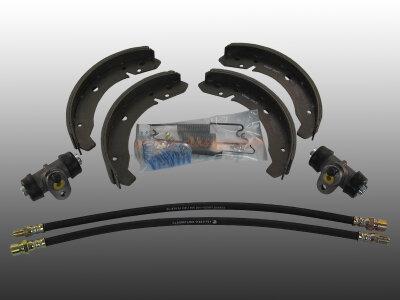 Bremsensatz Trommelbremse komplett vorne für VW...