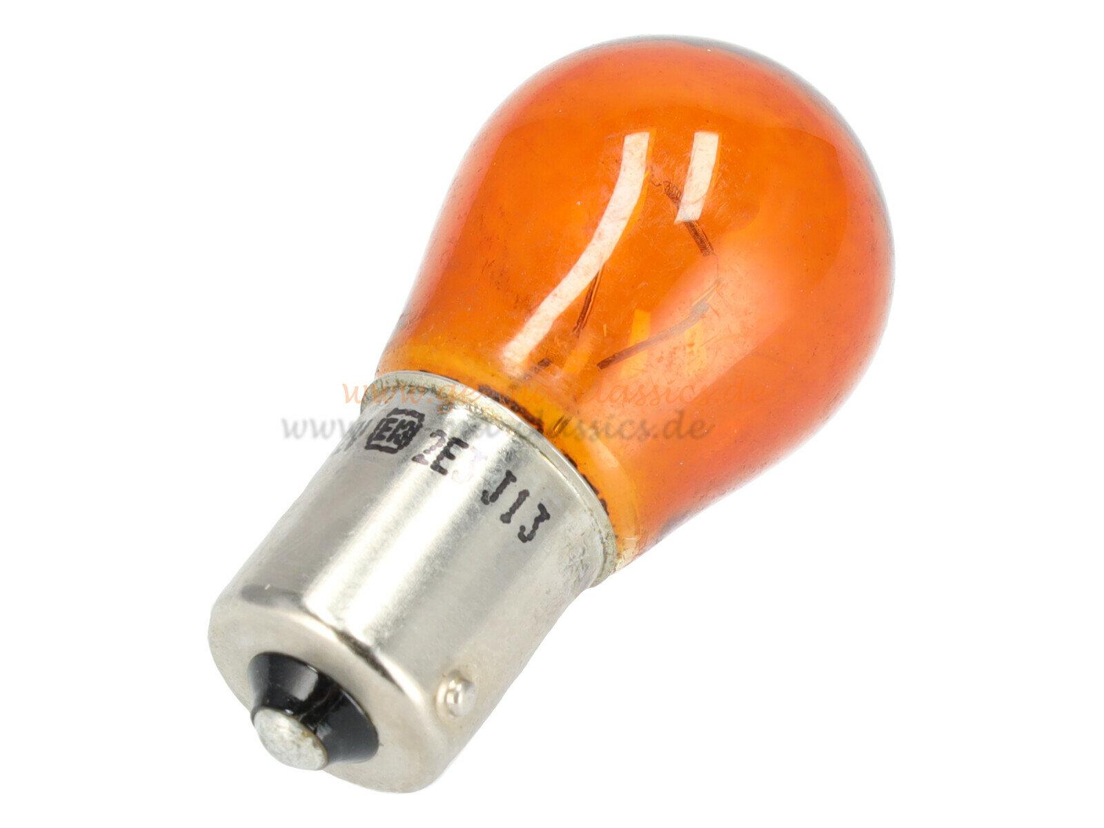 Glühbirne Lampe Birne 12V 21W für VW Käfer Bernsteinfarben Blinker
