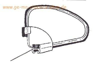 POP OUT Rahmen-Dichtung Paar Käfer Ausstellfenster ab 65
