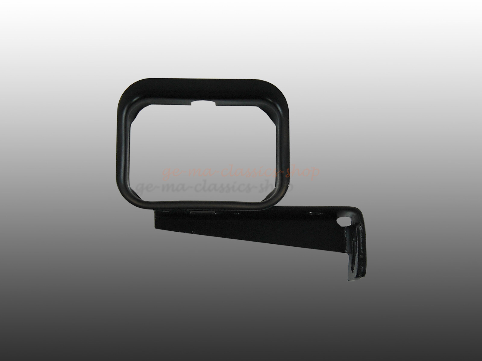 Halter Thermostat für VW Typ1 1200-1600 pulverbeschichtet schwarz