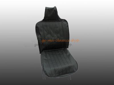 Sitzbezüge Käfer-Cabrio SCHWARZ 70-72 hoher Sitz