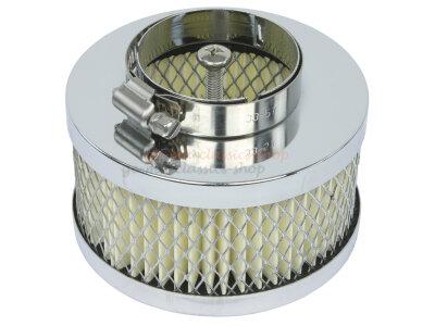 Luftfilter Mini chrom EMPI für Standard VW Typ1 Vergaser