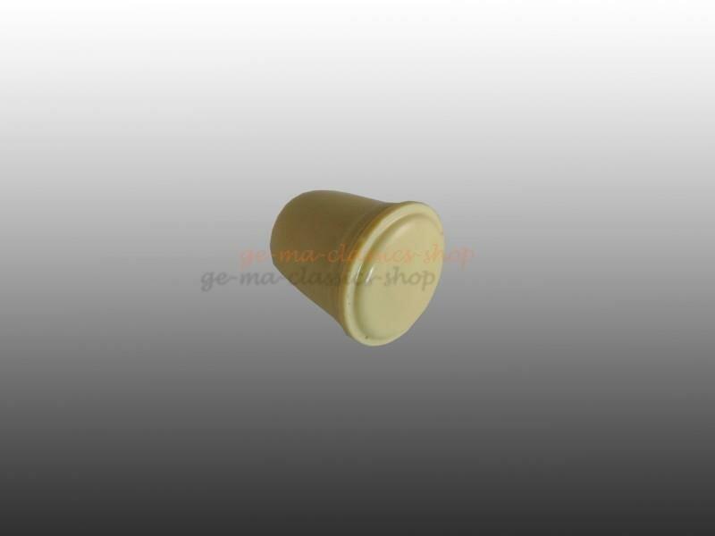 Druck-Knopf Scheibenwaschanlage Käfer 3mm Elfenbein