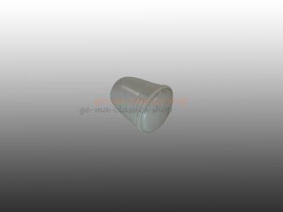 Druckknopf Scheibenwaschanlage Käfer 5mm Grau