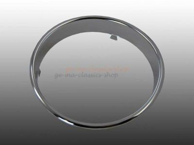 Tacho-Ring Käfer 52-57 Chrom Ovali