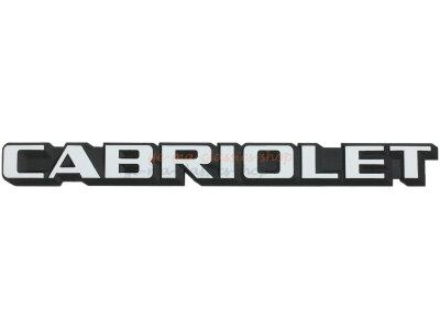 """""""CABRIOLET"""" Schriftzug für VW Golf 1..."""