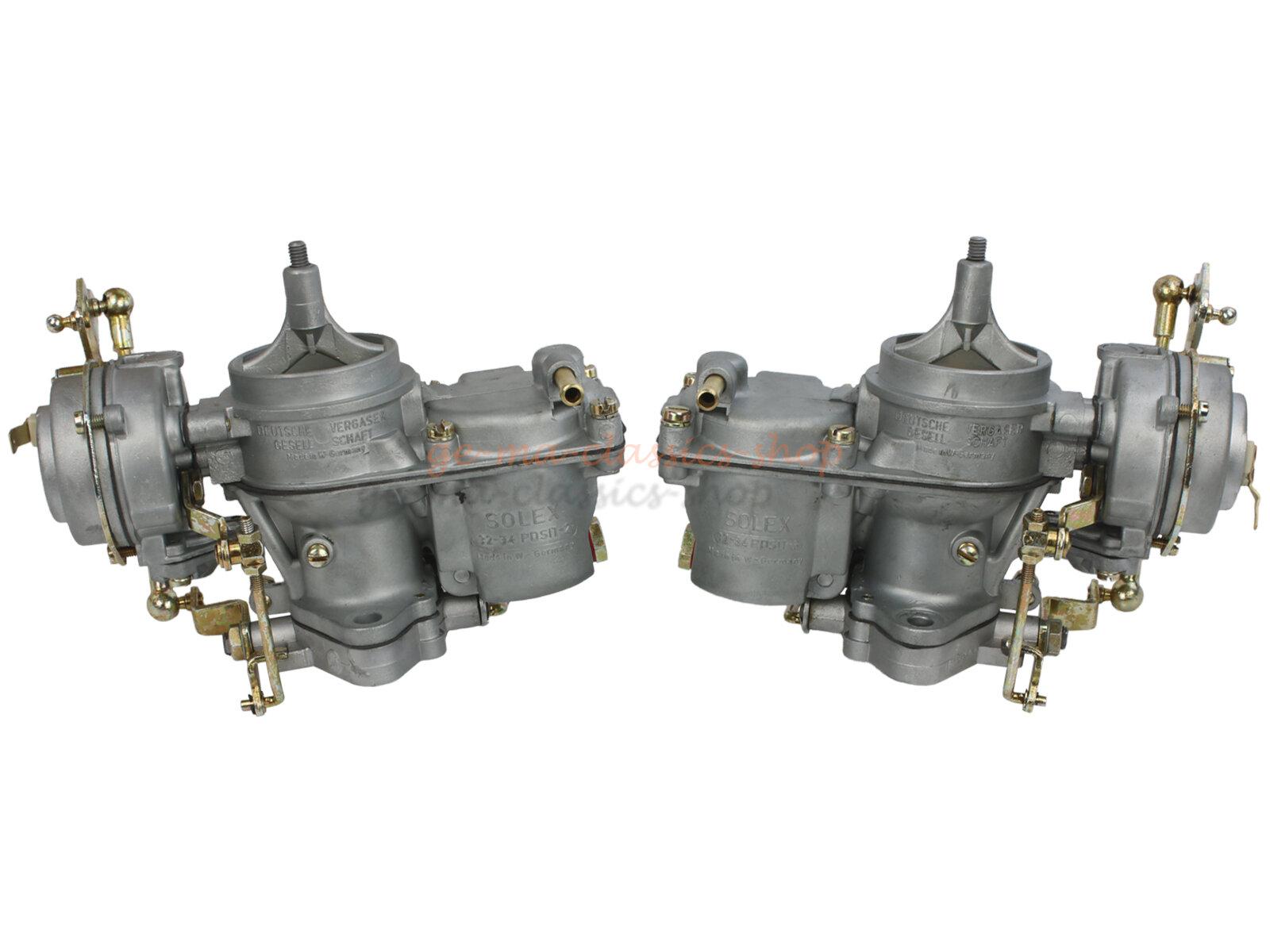 Paar Vergaser für Typ3 1,6 mit 12Volt überholt AT inkl. Altteilgebühr