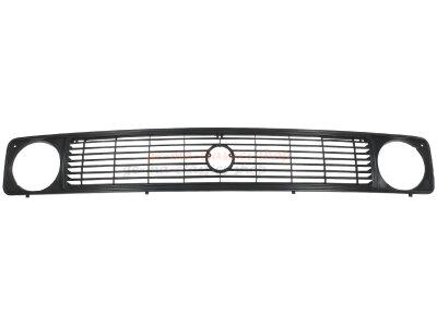 Kühlergrill schwarz für VW Bus T3 mit runden...