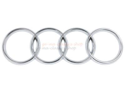 Audi 80 und Coupe Quattro Ringe Emblem vorne...
