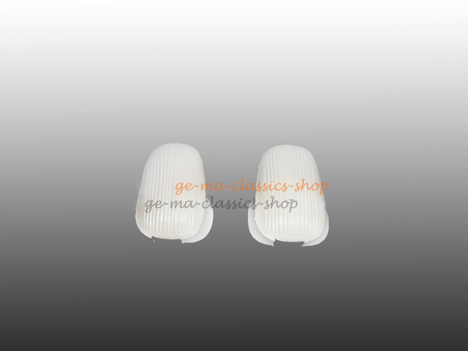 Abdeckung Halteschlaufe Käfer Kleiderhaken Weiss 58-67 Paar