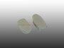 Abdeckung Halteschlaufe Käfer Kleiderhaken Weiss ab 68 Paar