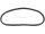 Heckscheibendichtung Chromzierleiste für Oval-Käfer Ovali Export