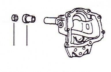 Dichtungsring O-Ring VW Käfer Getriebe-Ausgangsrohr