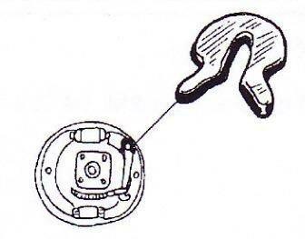 Sicherungsring Handbremshebel für VW Käfer Karmann Typ3
