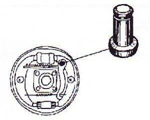 Passstift Handbremshebel für VW Käfer Karmann Typ3