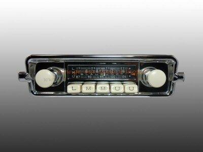 Auto-Radio Käfer 57-66 6V 12V Original Blaupunkt Garantie