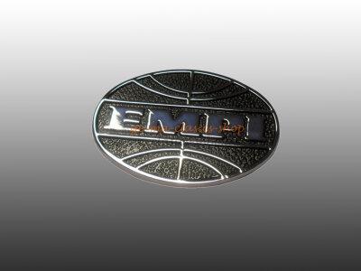 EMPI Emblem für VW Käfer Chrom Rund