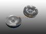 Chrom Luftfilter für VW Typ3 1600 Tuning Paar