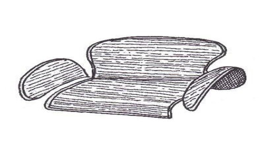 Teppichsatz Stauraum HAFER 58-64
