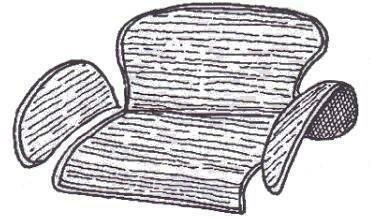 Teppichsatz Stauraum SCHWARZ 65-72