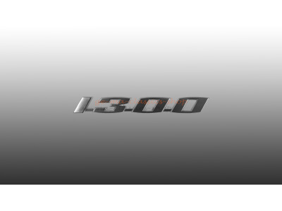 Schriftzug 1300 für VW Käfer Motorhaube Original