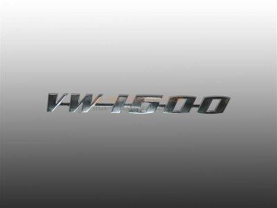 Schriftzug VW 1500 für VW Käfer Motorhaube...