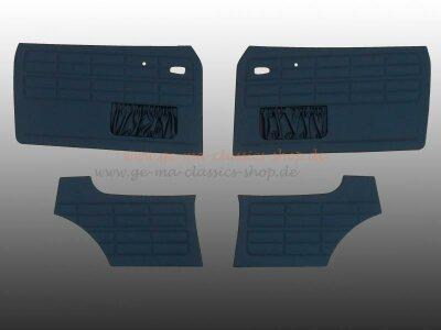Türverkleidungen Karmann Limousine Schwarz BJ 64-73