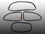 Scheibendichtsatz für VW Käfer BJ 53-57 mit Nut
