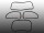 Scheibendichtsatz für VW Käfer BJ 58-64 Ohne Nut