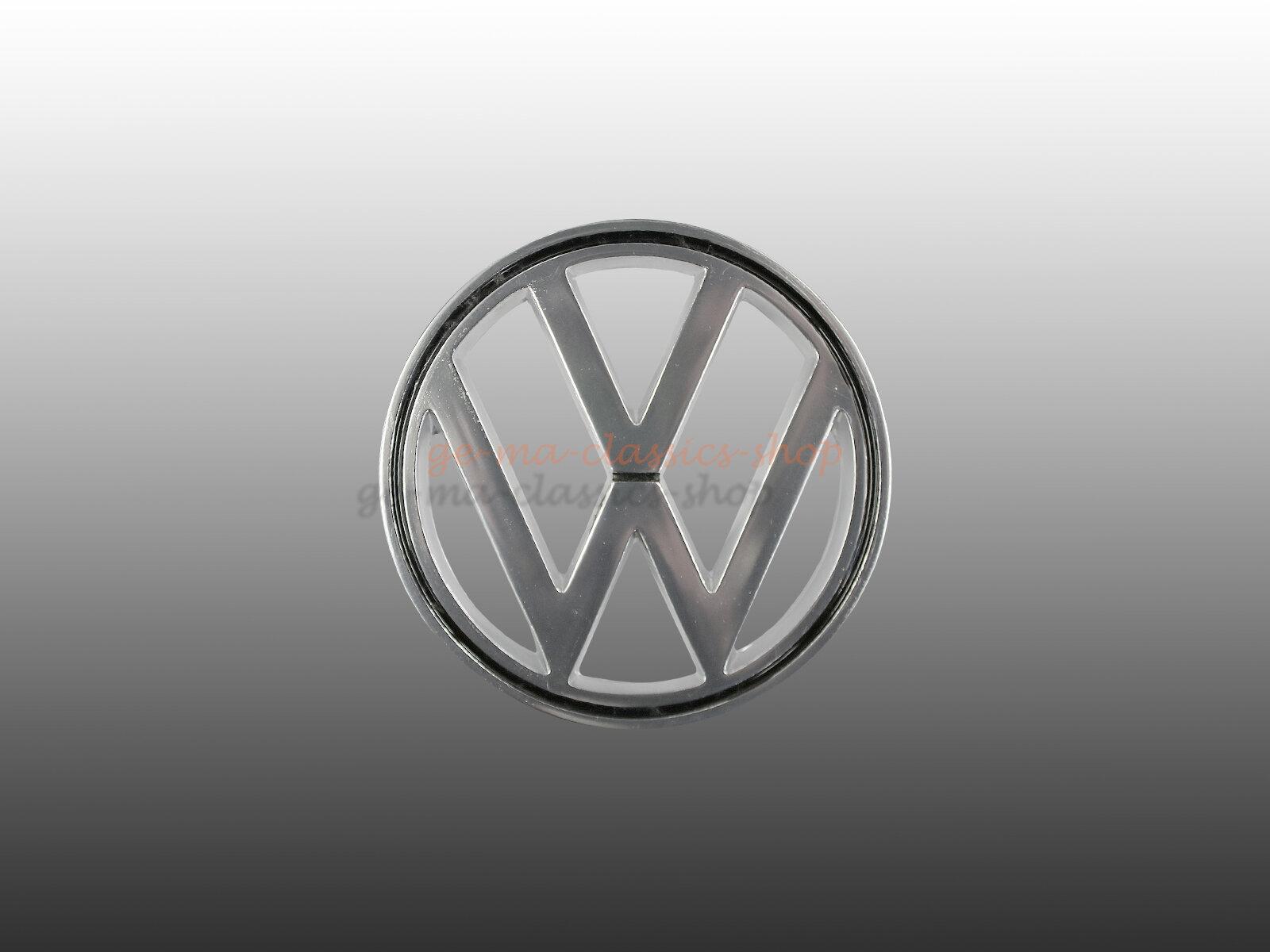 Emblem Zeichen Fronthaube für VW Käfer ab 64 Original