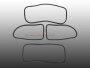 Scheibendichtsatz für VW Käfer BJ 65-71 1302  mit Nut für Metallzierleiste