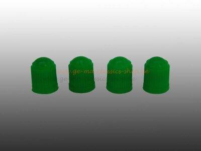 Ventilkappen Grün 4 Stück