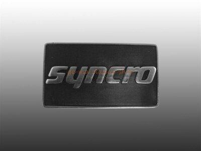 """""""syncro"""" Schriftzug seitlich Golf 2"""