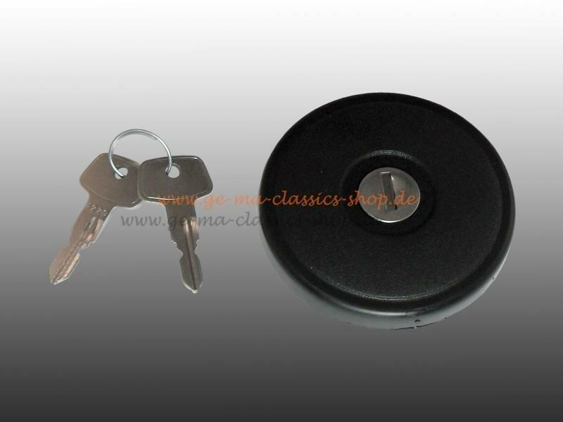 Tankdeckel mit Schlüssel für VW Bus T3 Syncro