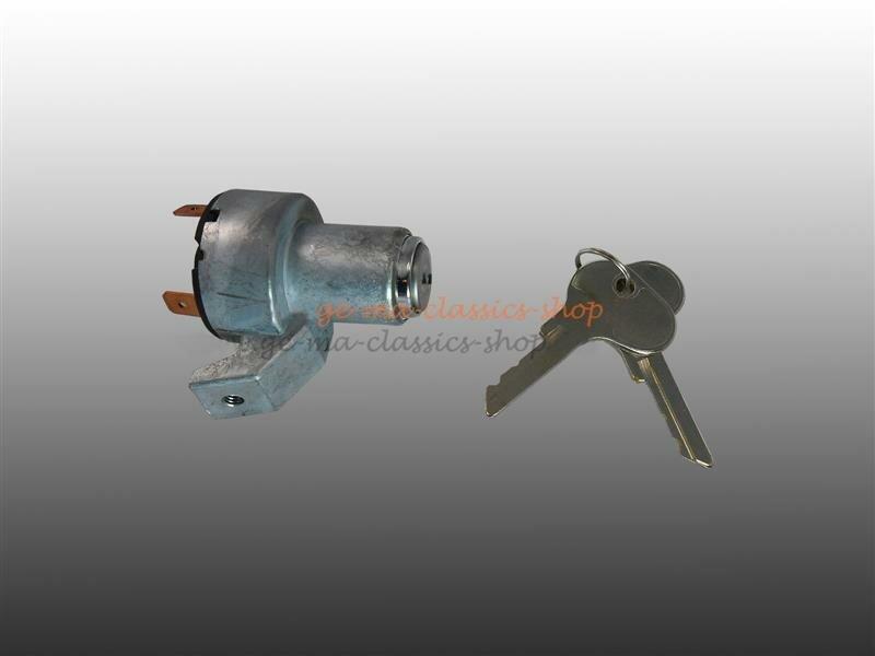 Zündschloss mit Schlüssel für VW Käfer Bj 57-67